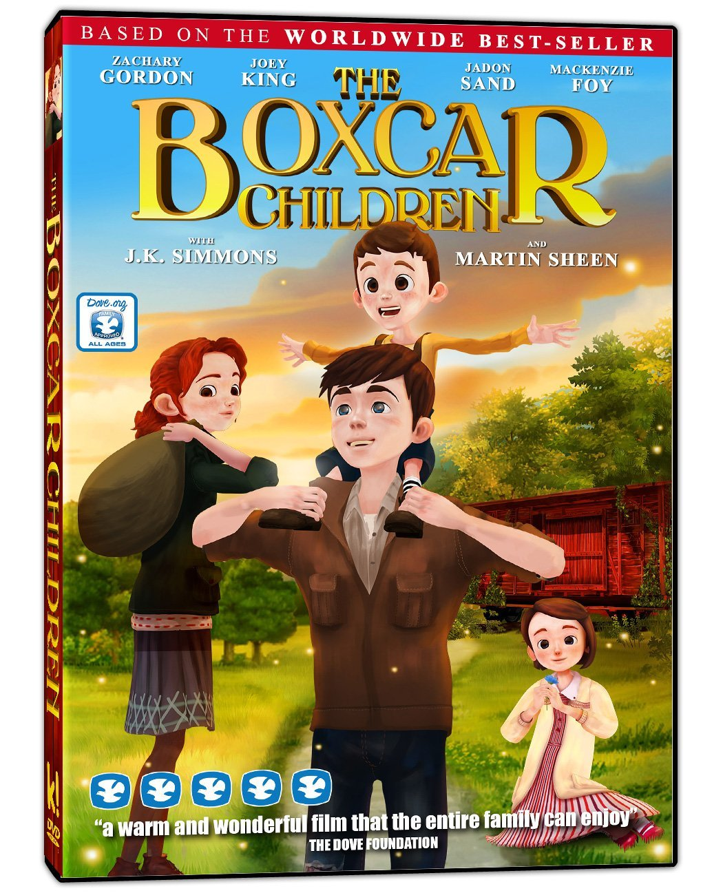 Boxcar Children Book Cover : The boxcar children movie eli s novel reviews